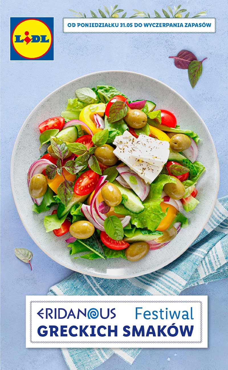 Lidl Festiwal greckich smaków od 31 maja 2021