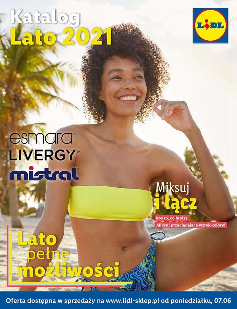 Lidl, Katalog Lato 2021, od 7 czerwca 2021