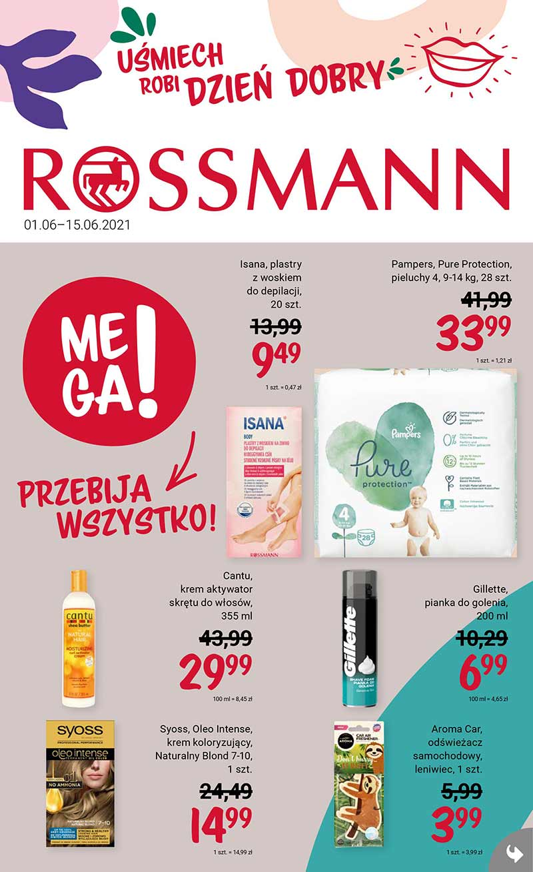 Rossmann Gazetka od 1 czerwca 2021